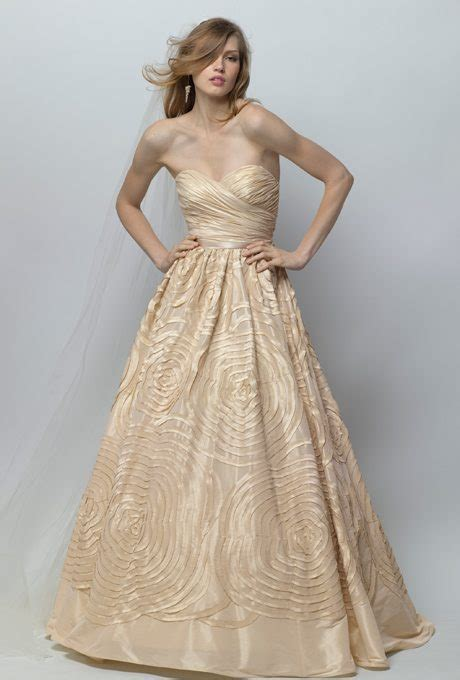 Smooth & Shining Taffeta Wedding Gowns     TopWeddingSites.com