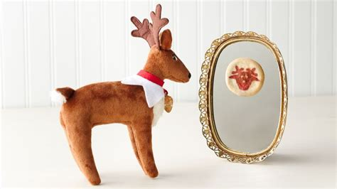 Mirror Reindeer reindeer cookie mirror recipe tablespoon