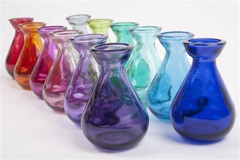 coloured for vases casa limited coloured glass bud vase