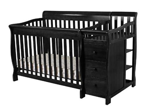 on me baby crib nursery crib on me 4 in 1 brody convertible crib with changer black nursery for baby