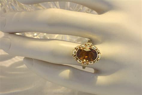 Ringe Gã Nstig by Citrin Ring Gold 585 Second