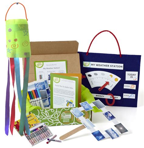 green kid crafts weather science discovery box green kid crafts