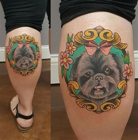 why does my shih tzu follow me everywhere 23 beautiful pet tattoos that show they re your friend for