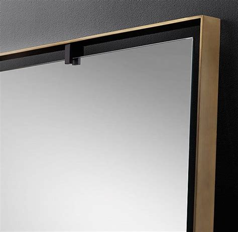 cheriesparetime frame a mirror with clips 1000 ideas about mirror clips on pinterest frameless
