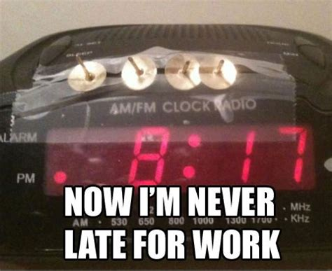 Late For Work Meme - funny late for work memes