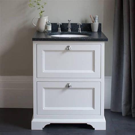 bathroom vanity unit worktops burlington matt white 650mm freestanding vanity unit with
