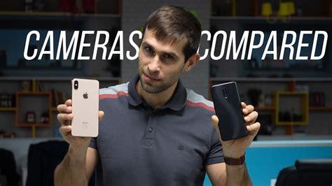 oneplus 6t vs iphone xs max comparison