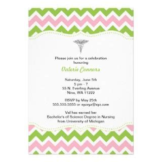 6 best images of free printable nursing invitations