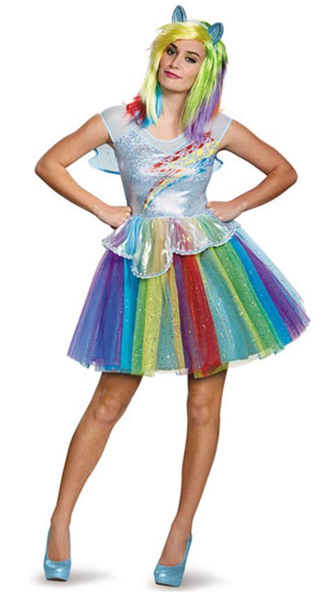 Costum Kostum Pesta Costume 14 Blue deluxe rainbow dash dress costume rainbow dash costume
