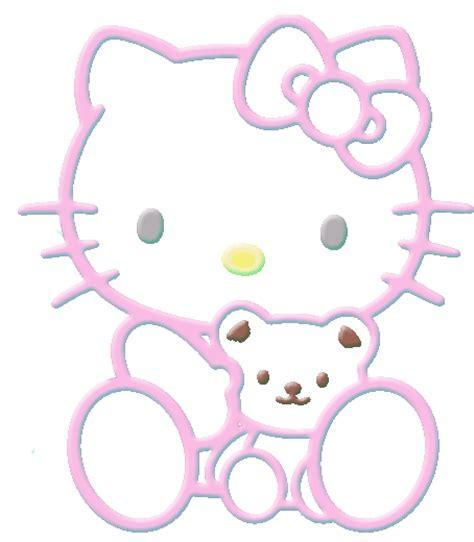 imagenes kitty corazones dibujos a color kitty dibujos