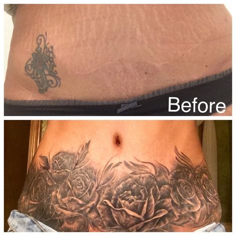 stretched out tattoos best 25 mens stomach ideas on
