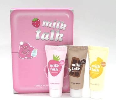 Harga Etude House Ac Clinic Trial Kit milk talk wash miniature set korea kosmetik