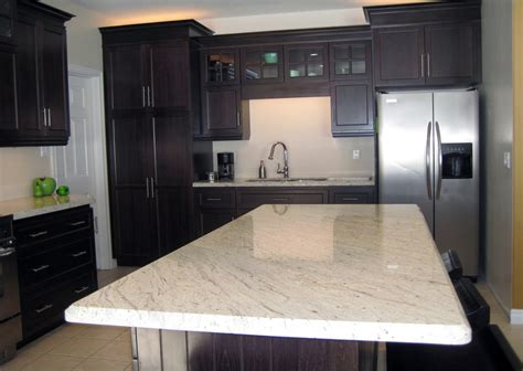 countertops for white cabinets river white granite