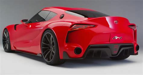 Toyota Supra Concept Toyota Supra Concept Tipped To Debut In October