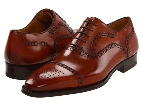 cognac color shoes magnanni santiago zappos free shipping both ways