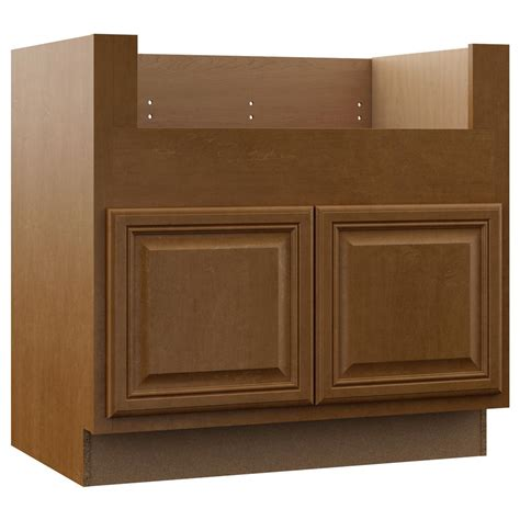 apron sink base cabinet hton bay cambria assembled 36x34 5x24 in farmhouse