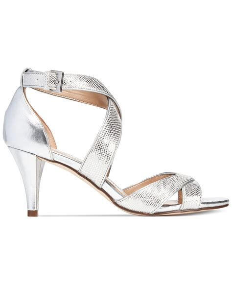 Silver Evening Shoes by Style Co Pravati Evening Sandals Only At Macy S In
