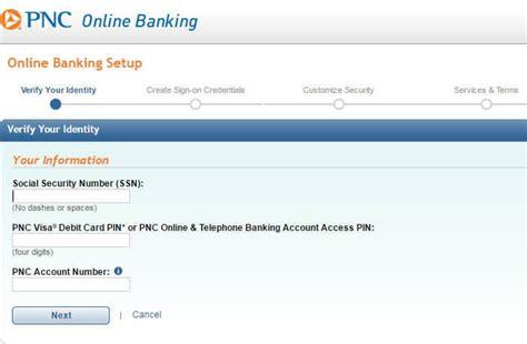 pnc bank personal banking inicio de sesi 243 n en banca online de pnc bank cc bank