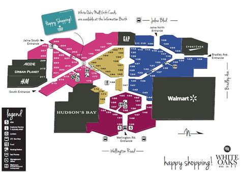layout of white oaks mall white oaks mall ontario located in london ontario