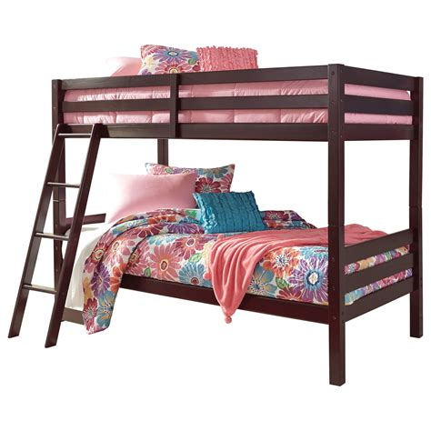 ashley bunk beds signature design by ashley halanton solid pine twin twin