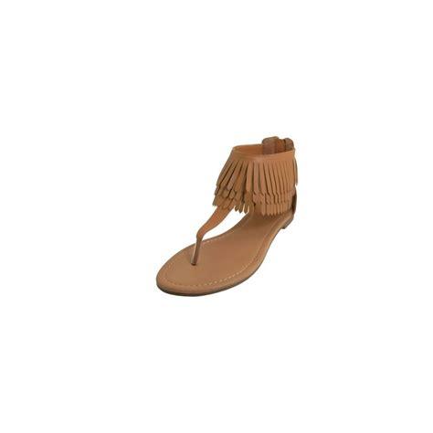 s fringe sandals 18 units of s fringe sandals beige size 6 11