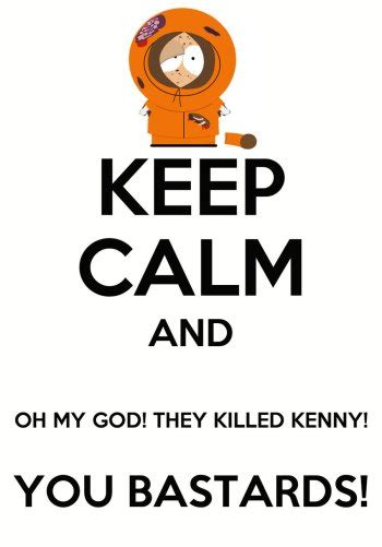 they killed my south park oh my god they killed kenny again