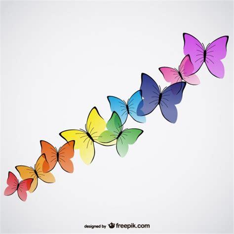 imagenes vectores colores vectores de mariposas de colores descargar vectores gratis