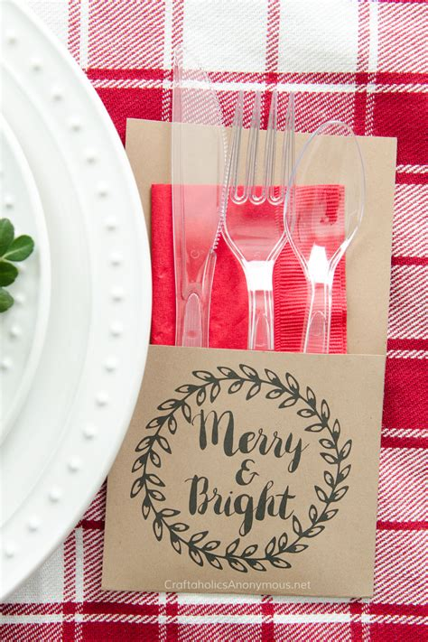 craftaholics anonymous 174 free printable christmas utensil