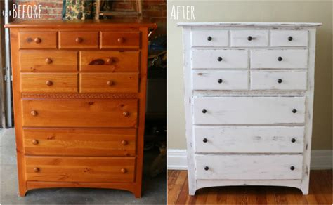 chalk paint jak zrobi before after an outdated garage sale dresser gets a