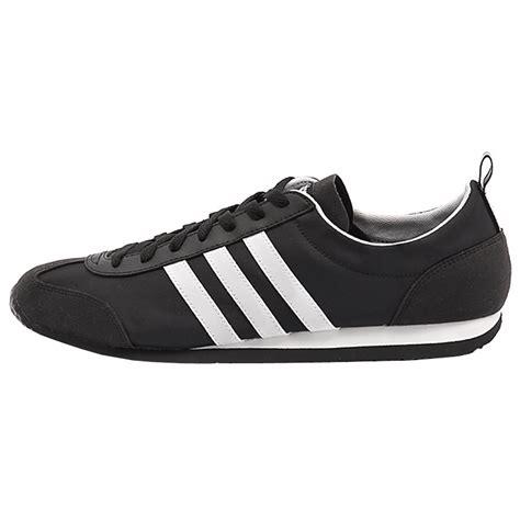Sepatu Adidas Neo V Leather Blue Grey Keren Murah Bagus Baru Grosir Ec adidas grey black