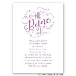 the before mini rehearsal dinner invitation invitations by