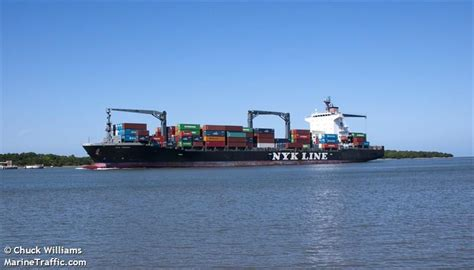 vessel details for nyk joanna container ship imo - Ship Particular Nyk Joanna