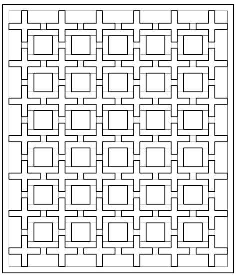 color pattern maker positive space quilt along coloring pages jenna brand