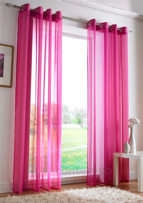 Pink Sheer Curtains Pink Sheer Curtain Panels Curtain Menzilperde Net