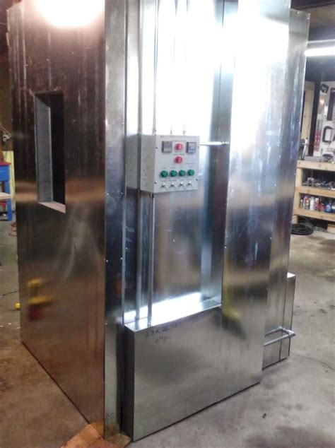 Oven Coating powder coating oven build panel workshop ideas
