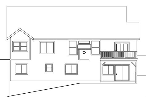 Sloping Lot by Sloping Lot House Plans Modern House