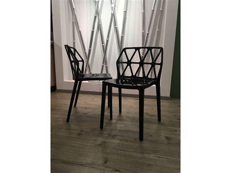 sedie cucina scavolini sedia da cucina shadow di scavolini a prezzo outlet