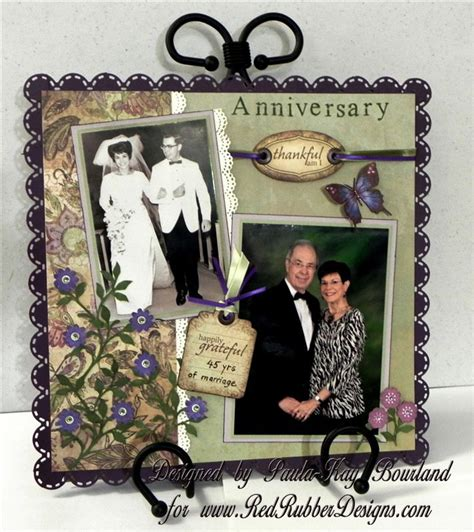 Wedding Anniversary Layout by 25 Best Ideas About Anniversary Scrapbook On