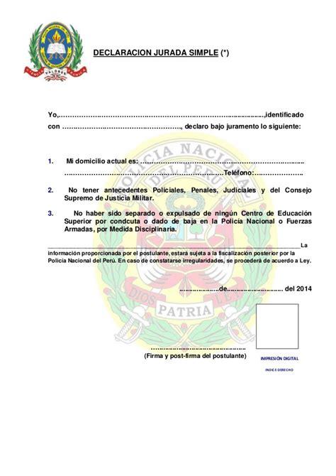modelos de escritos penales yo judiciales peru taringa carpeta de postulante a la asimilacion complementaria pnp 2014