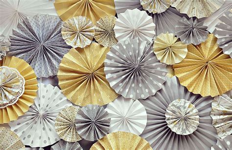 Paper Rosettes - be different act normal paper wheel decorations