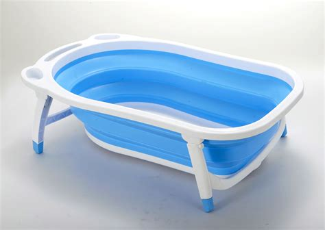 collapsible baby bathtub foldable folding baby bathtub bath tub infant bathing ebay