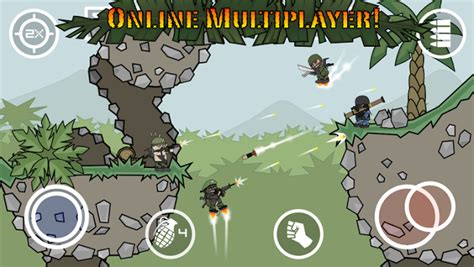 doodle mod apk doodle army 2 mini militia mod apk mega unlocked free