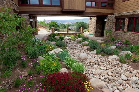 swales landscaping by dwyer gardens new castle colorado