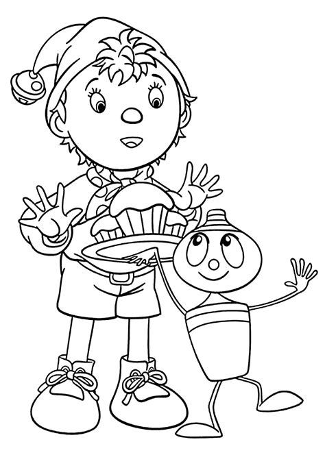 noddy coloring pages noddy coloring pages and print for free