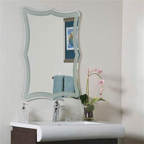 frameless mirrors for bathrooms katherine modern bathroom mirror decor