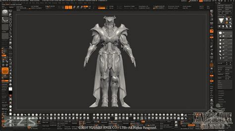 zbrush workflow discover square enix s zbrush workflow for kingsglaive
