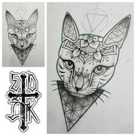 tattoo mandala katze katzen mandalas and mandala t 228 towierung on pinterest