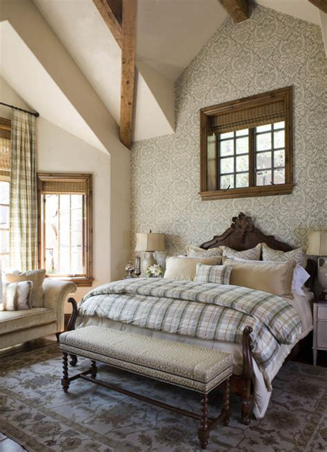 Houzz Wallpaper Bedroom by Buffehr Creek Residence Rustic Bedroom Other Metro