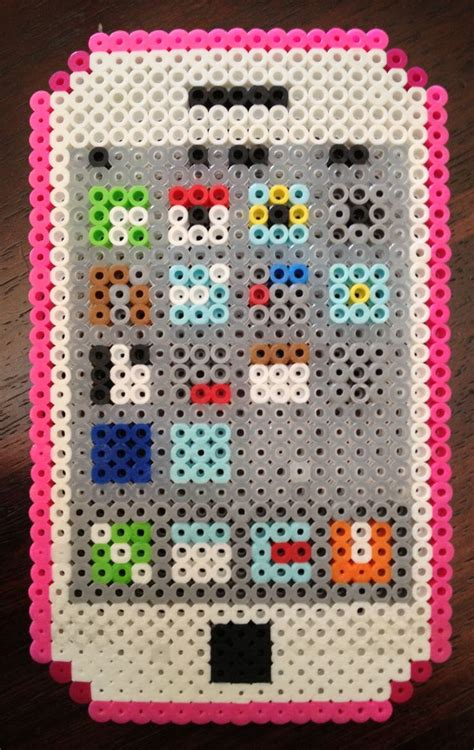 easy perler bead ideas iphone easy design perler perler