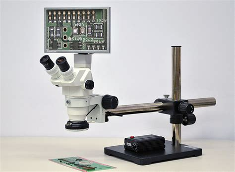 1080p hd stereo zoom digital microscope system